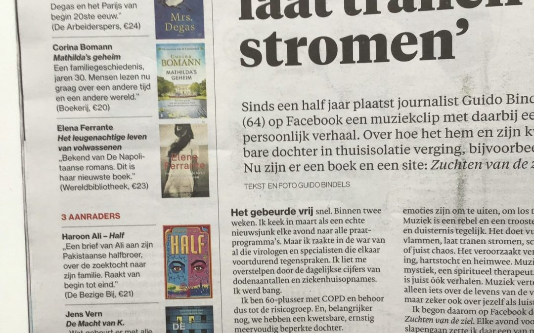 Review in Dutch daily newspaper AD