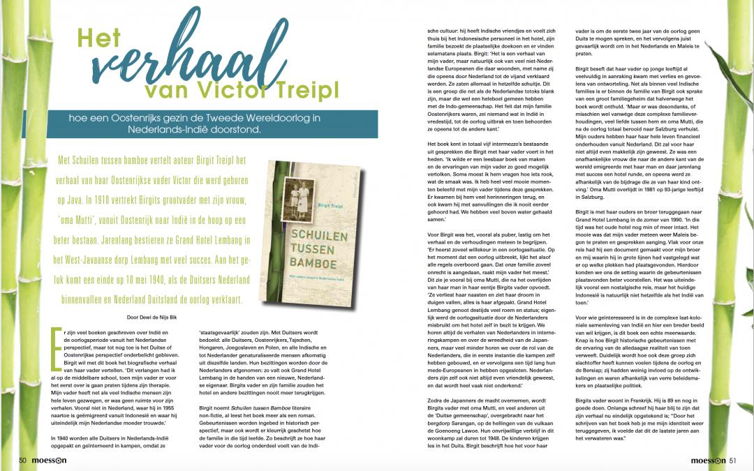 Interview in Moesson Magazine