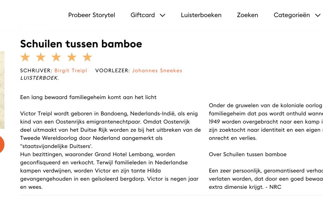 Audioboek Schuilen tussen bamboe op Storytel
